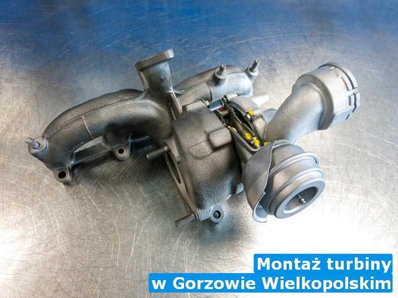 Turbina wysłana do zakładu z Gorzowa Wielkopolskiego - Montaż turbiny, Gorzowie Wielkopolskim