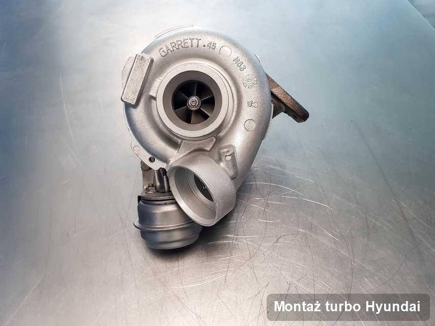 Turbosprężarka do osobówki producenta Hyundai naprawiona w przedsiębiorstwie gdzie realizuje się usługę Montaż turbo