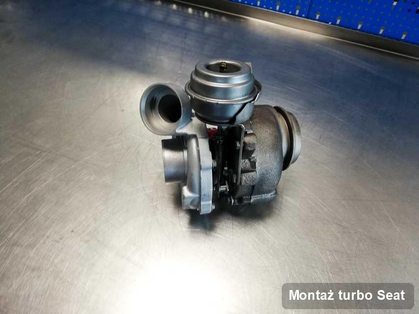 Turbosprężarka do samochodu firmy Seat zregenerowana w przedsiębiorstwie gdzie wykonuje się usługę Montaż turbo