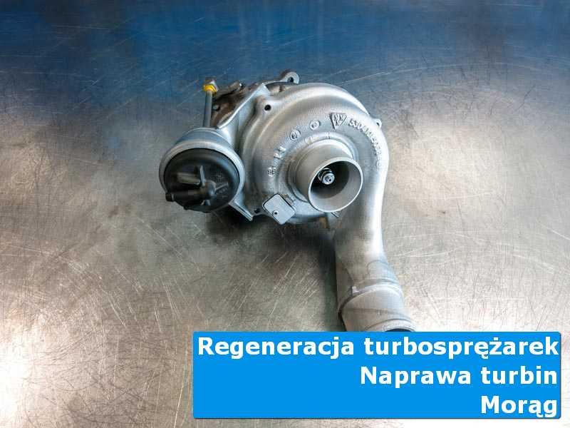 Układ turbodoładowania przed wymianą u fachowców w Morągu