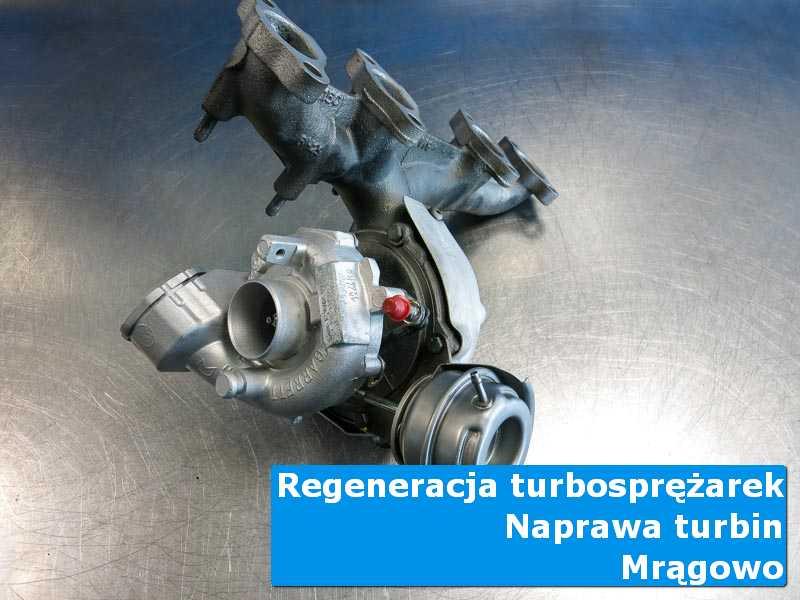 Turbosprężarka przed oddaniem do klienta w autoryzowanej pracowni w Mrągowie