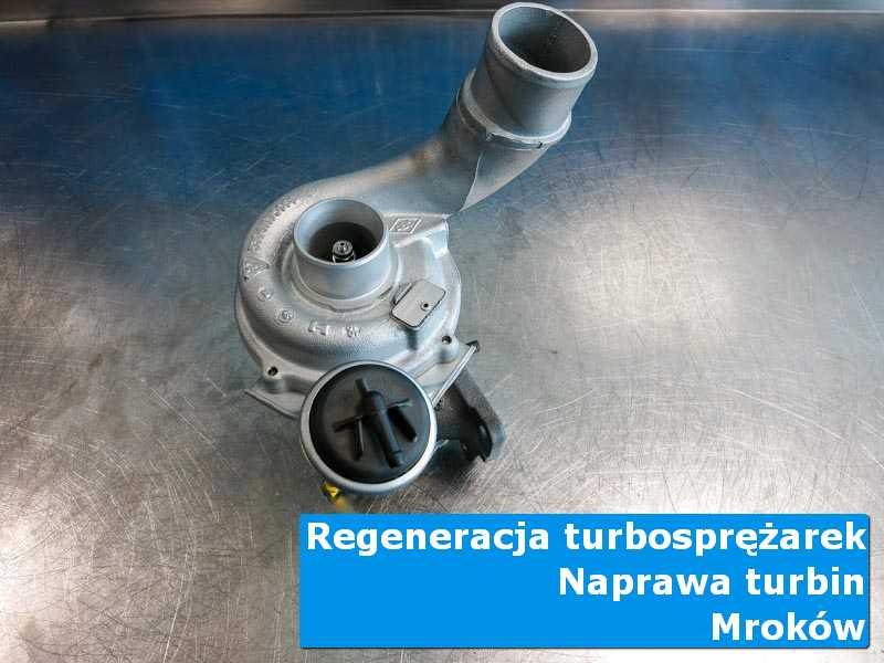 Układ turbodoładowania po regeneracji w warsztacie w Mrokowie