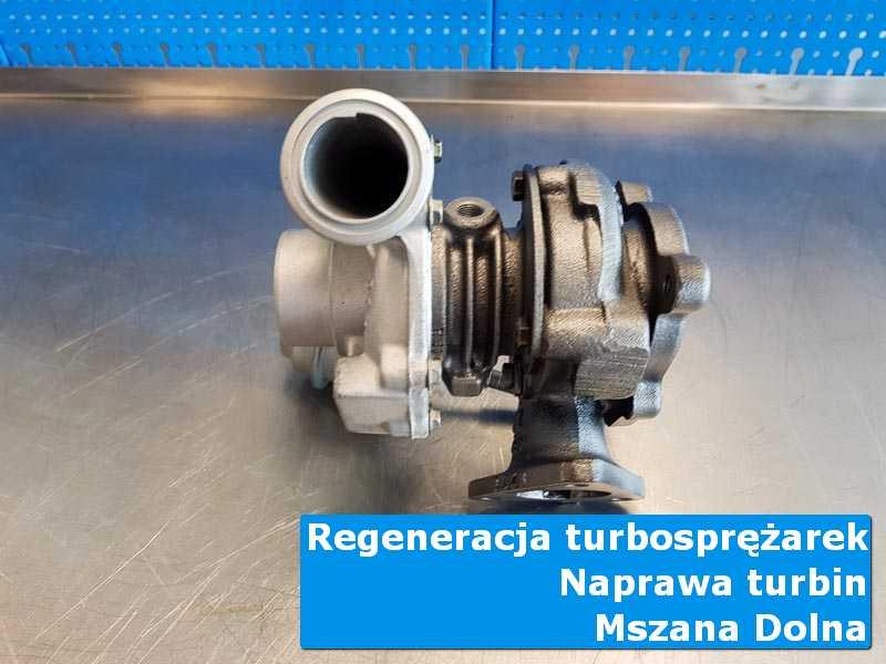 Układ turbodoładowania po wizycie w ASO u specjalistów z Mszany Dolnej