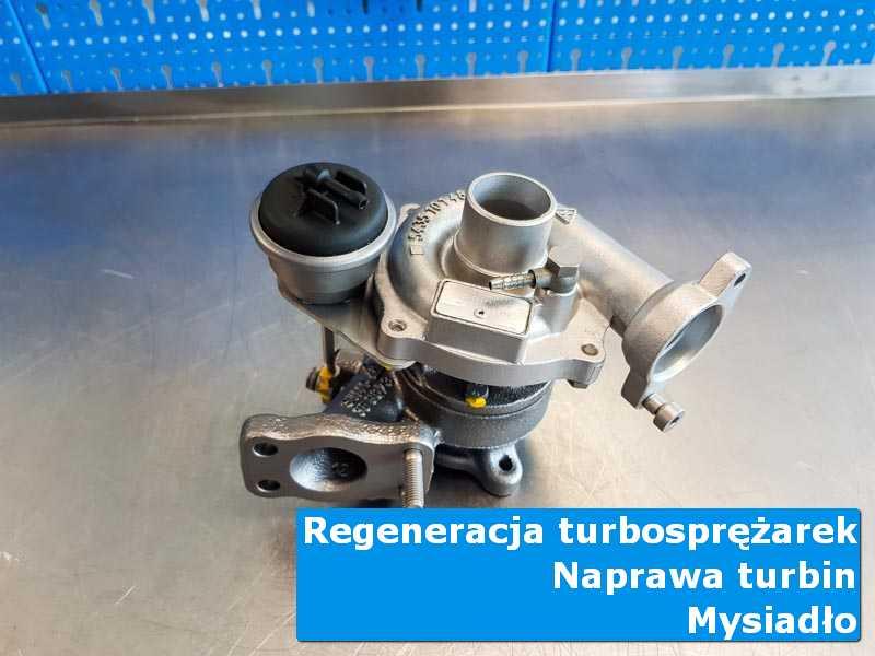 Układ turbodoładowania po serwisie u specjalistów z Mysiadła