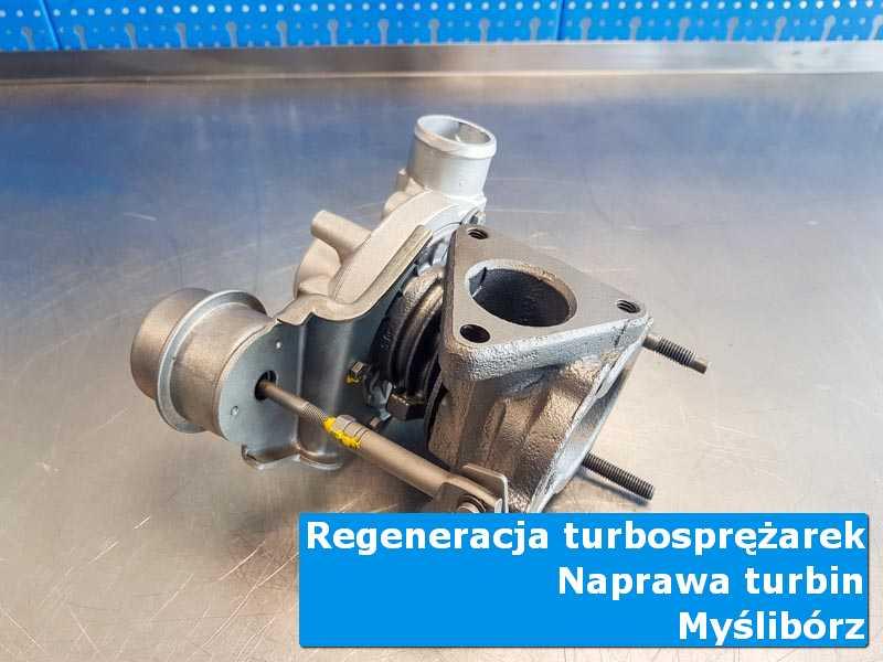 Układ turbodoładowania po przywróceniu sprawności w autoryzowanej pracowni z Myśliborza