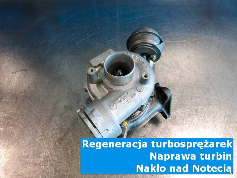 Układ turbodoładowania przed demontażem w laboratorium w Nakle nad Notecią