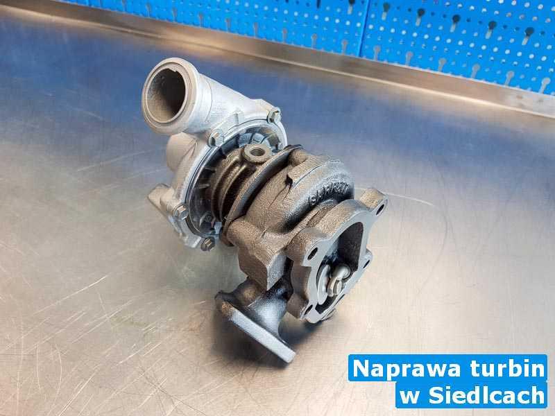 Turbosprężarka przywrócona do pełnej sprawności pod Siedlcami - Naprawa turbin, Siedlcach