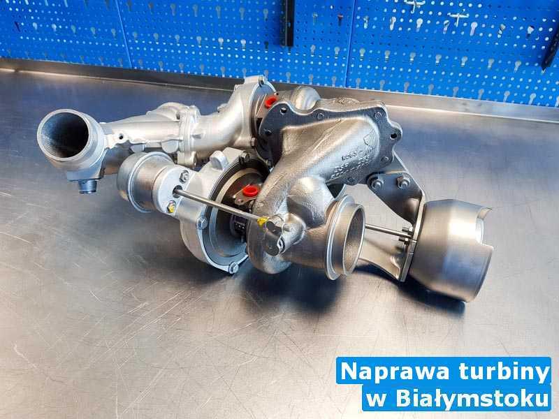 Turbosprężarka remontowana pod Białystokiem - Naprawa turbiny, Białymstoku