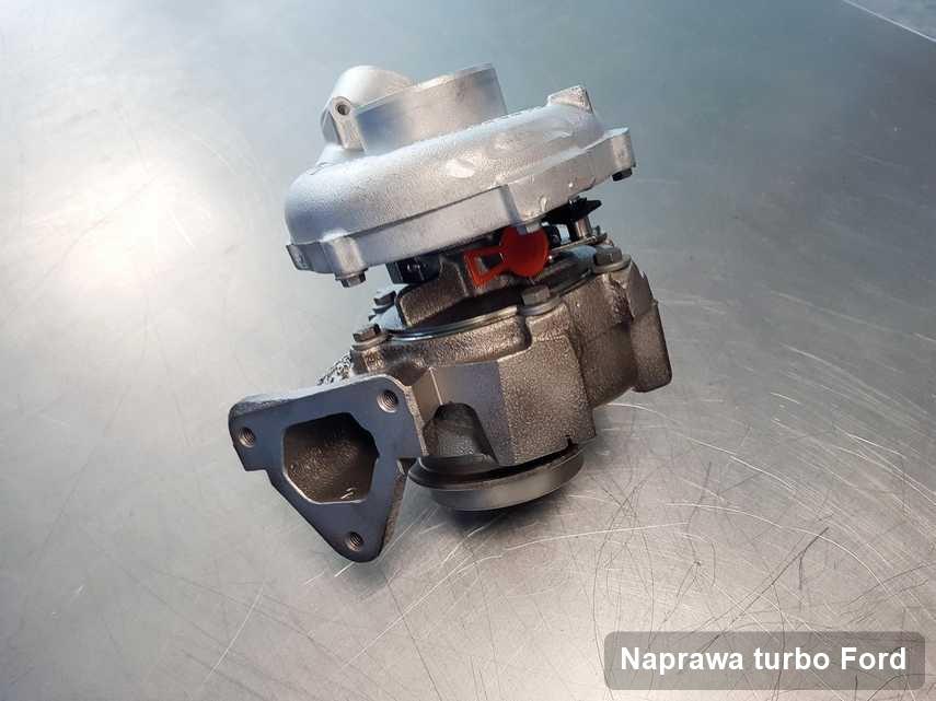 Turbosprężarka do pojazdu firmy Ford po naprawie w firmie gdzie zleca się serwis Naprawa turbo