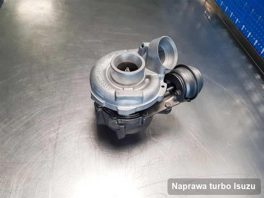 Turbosprężarka do pojazdu firmy Isuzu wyremontowana w przedsiębiorstwie gdzie realizuje się serwis Naprawa turbo