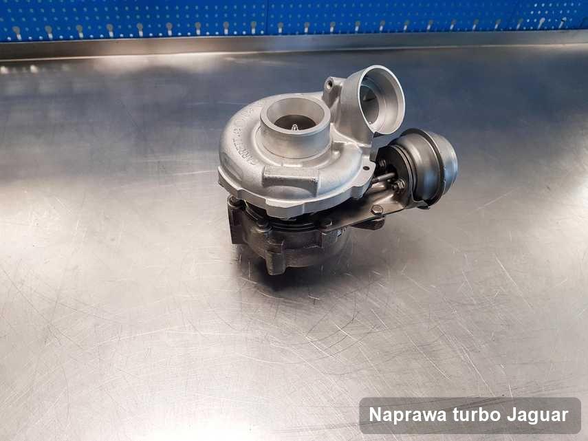 Turbina do auta firmy Jaguar naprawiona w warsztacie gdzie realizuje się usługę Naprawa turbo