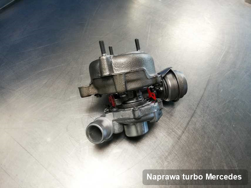 Turbina do pojazdu firmy Mercedes naprawiona w pracowni gdzie wykonuje się usługę Naprawa turbo