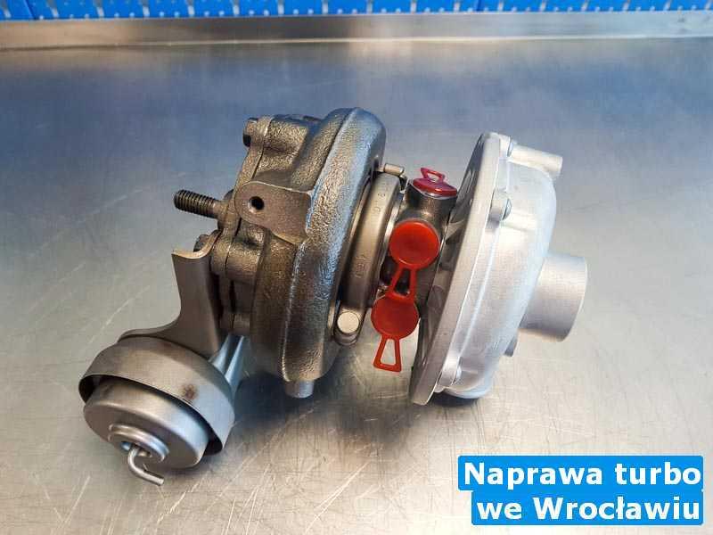 Turbosprężarka zdemontowana pod Wrocławiem - Naprawa turbo, Wrocławiu