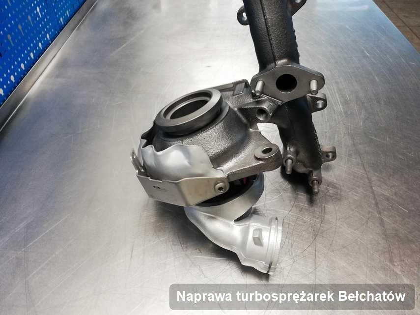 Turbina po wykonaniu serwisu Naprawa turbosprężarek w przedsiębiorstwie z Bełchatowa w doskonałej jakości przed spakowaniem