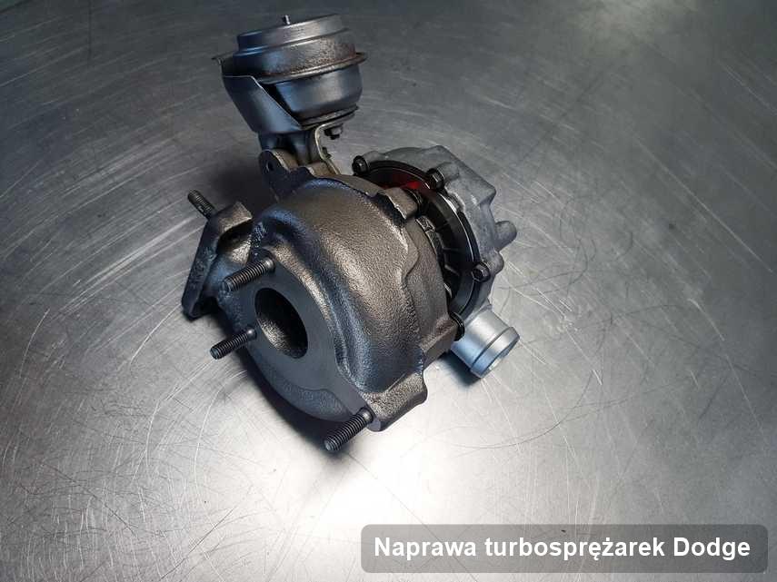 Turbina do diesla producenta Dodge zregenerowana w pracowni gdzie zleca się serwis Naprawa turbosprężarek