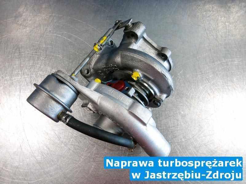 Turbosprężarka po wykonaniu usługi Naprawa turbosprężarek w firmie z Jastrzębia-Zdroju w niskiej cenie przed spakowaniem