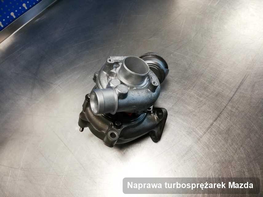 Turbina do pojazdu firmy Mazda zregenerowana w przedsiębiorstwie gdzie realizuje się usługę Naprawa turbosprężarek