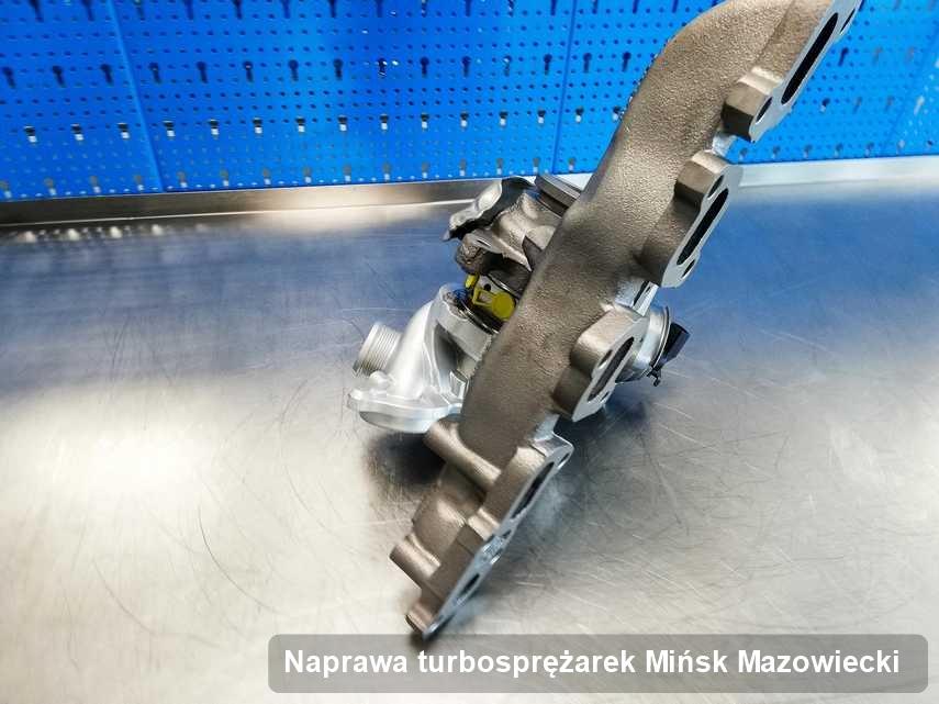 Turbosprężarka po wykonaniu serwisu Naprawa turbosprężarek w pracowni regeneracji z Mińska Mazowieckiego w doskonałej kondycji przed wysyłką