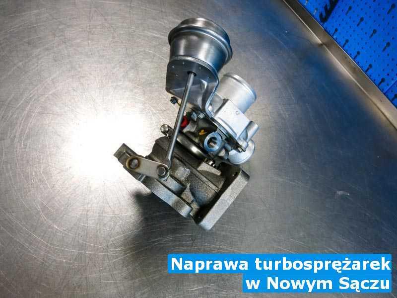 Turbina dostarczona do zakładu regeneracji w Nowym Sączu - Naprawa turbosprężarek, Nowym Sączu