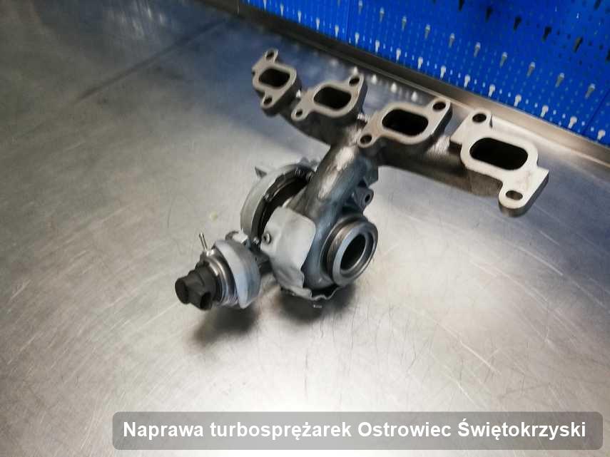 Turbosprężarka po wykonaniu usługi Naprawa turbosprężarek w pracowni w Ostrowcu Świętokrzyskim w niskiej cenie przed spakowaniem