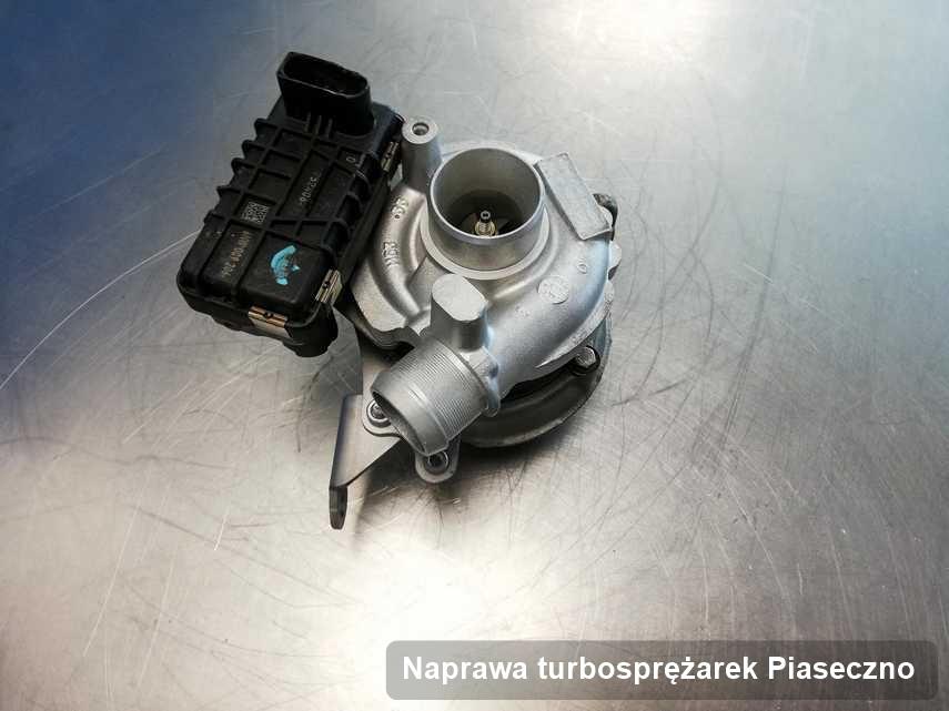 Turbina po przeprowadzeniu zlecenia Naprawa turbosprężarek w pracowni regeneracji z Piaseczna o osiągach jak nowa przed wysyłką