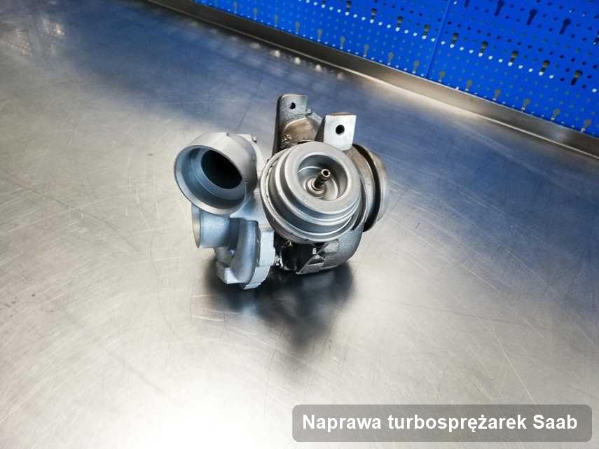 Turbina do diesla firmy Saab po naprawie w laboratorium gdzie realizuje się serwis Naprawa turbosprężarek
