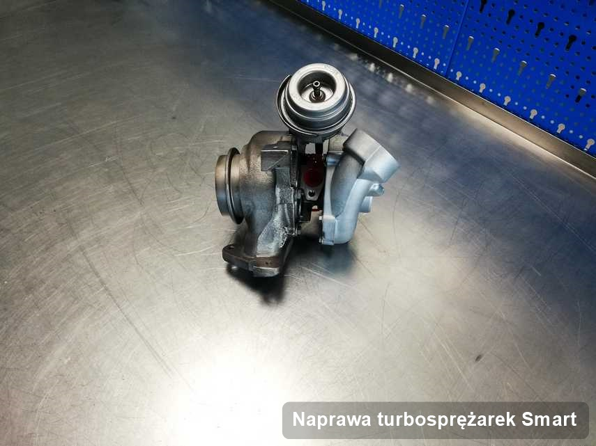 Turbina do diesla sygnowane logiem Smart zregenerowana w firmie gdzie przeprowadza się  serwis Naprawa turbosprężarek