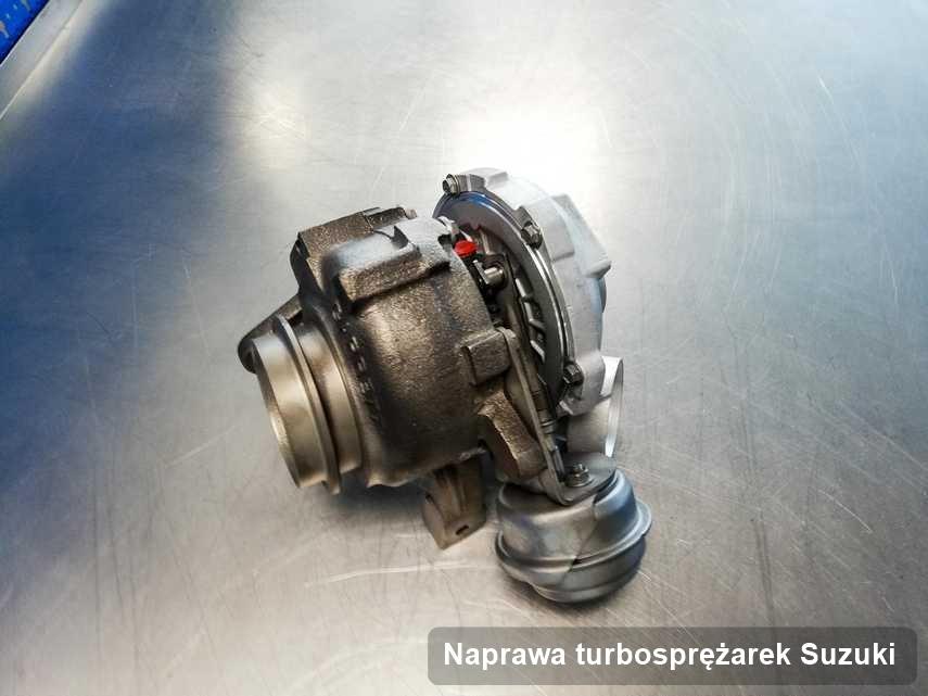 Turbina do auta osobowego firmy Suzuki wyremontowana w pracowni gdzie zleca się usługę Naprawa turbosprężarek