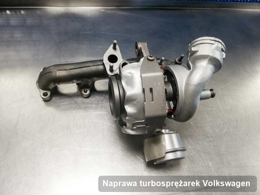 Turbosprężarka do samochodu marki Volkswagen naprawiona w firmie gdzie przeprowadza się  serwis Naprawa turbosprężarek