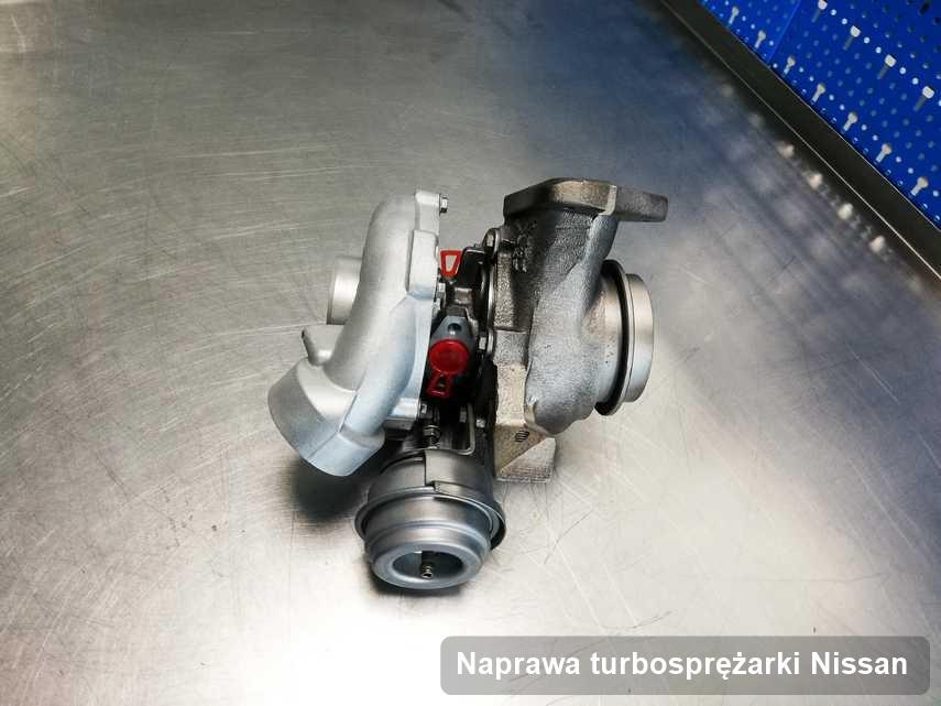 Turbosprężarka do auta producenta Nissan naprawiona w warsztacie gdzie przeprowadza się  usługę Naprawa turbosprężarki