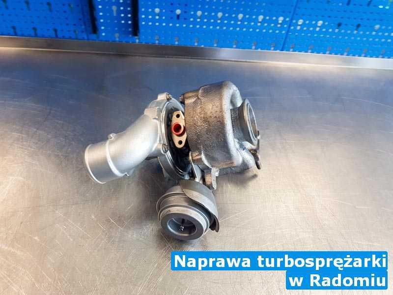 Turbo naprawione po awarii pod Radomiem - Naprawa turbosprężarki, Radomiu