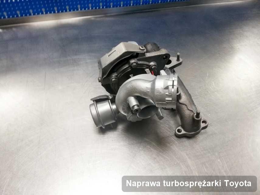 Turbosprężarka do diesla marki Toyota po naprawie w firmie gdzie realizuje się serwis Naprawa turbosprężarki