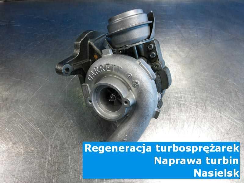 Układ turbodoładowania przed wymianą w warsztacie w Nasielsku