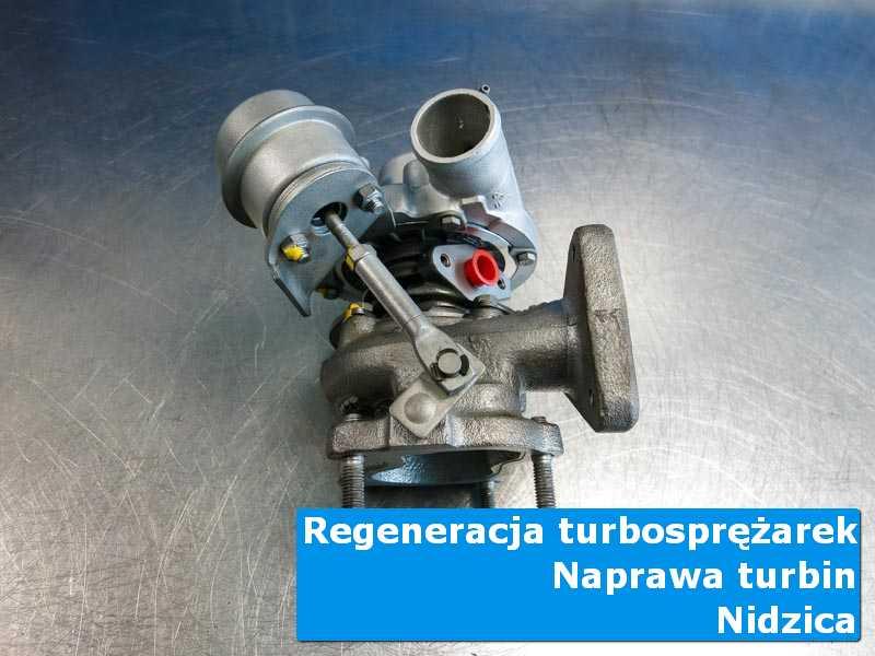 Układ turbodoładowania po naprawie u specjalistów z Nidzicy