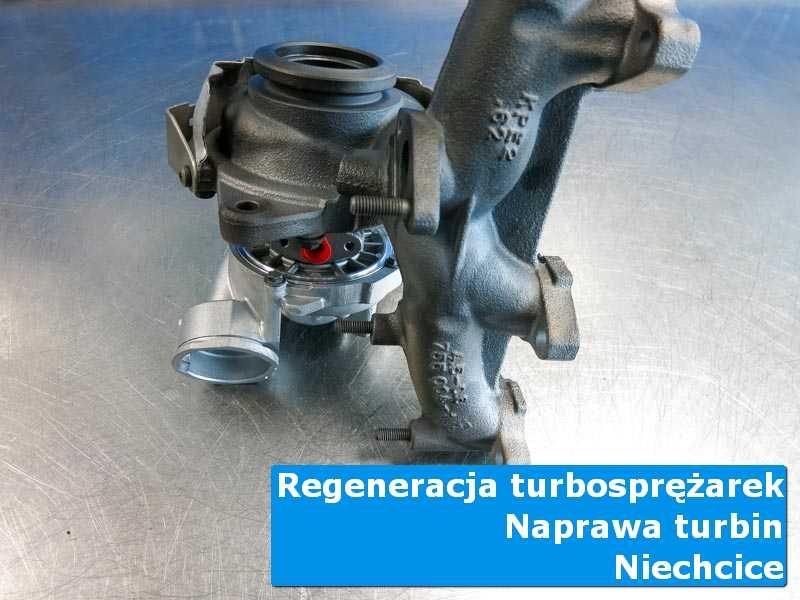 Układ turbodoładowania po przygotowaniu u fachowców w Niechcicach