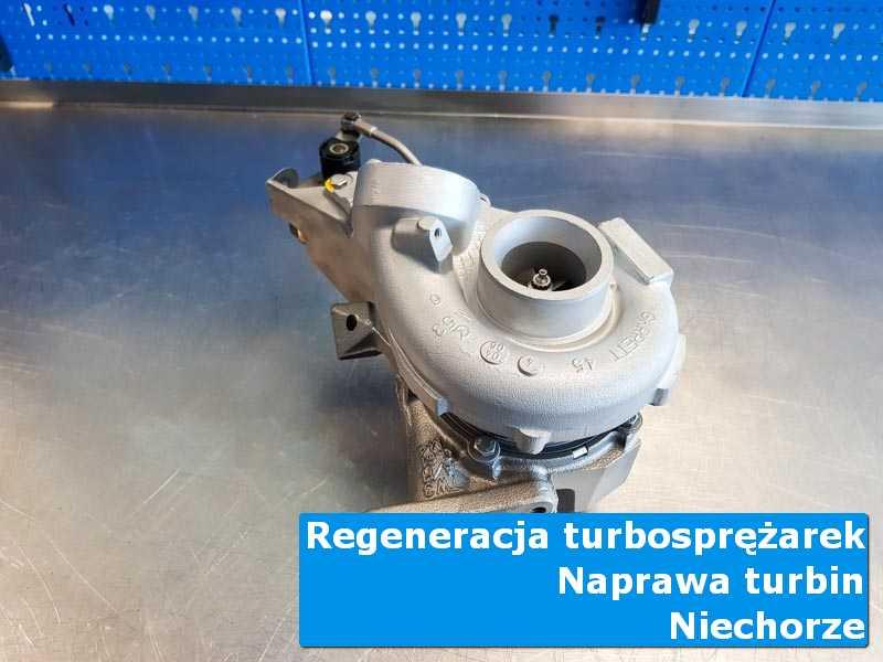 Układ turbodoładowania po serwisie w autoryzowanym serwisie w Niechorzu