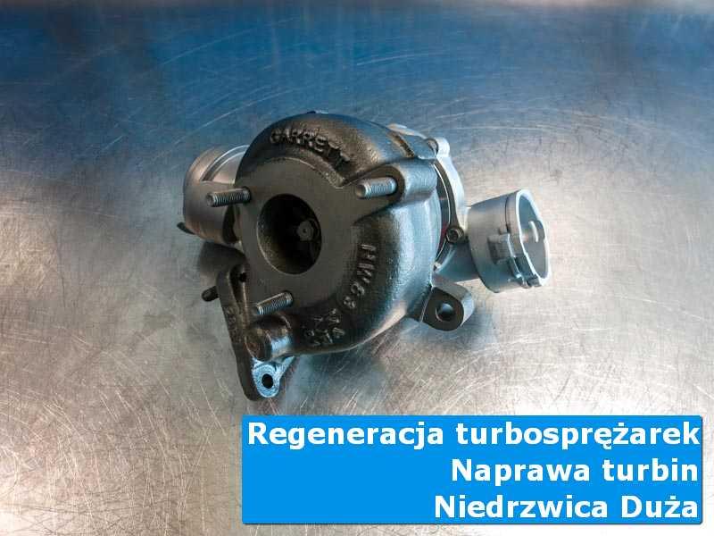 Układ turbodoładowania po przywróceniu sprawności w laboratorium w Niedrzwicy Dużej