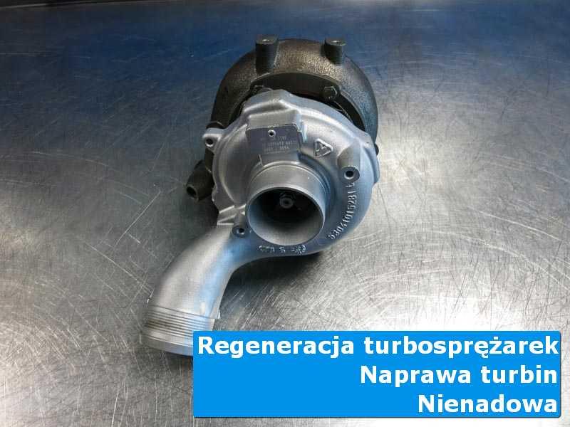 Układ turbodoładowania przed demontażem w warsztacie w Nienadowie