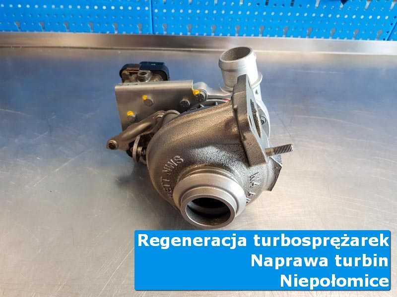Układ turbodoładowania po regeneracji w nowoczesnej pracowni w Niepołomicach