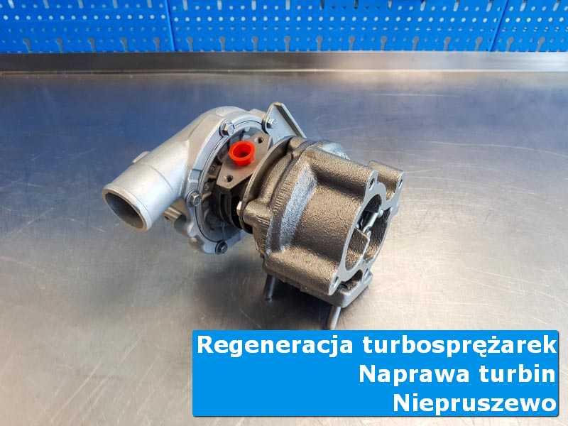 Układ turbodoładowania przed demontażem u fachowców w Niepruszewie