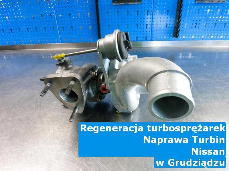 Turbosprężarka z pojazdu marki Nissan regulowana pod Grudziądzem