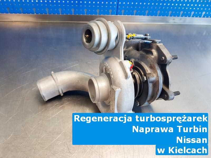 Turbosprężarki z auta Nissan po przywróceniu osiągów z Kielc