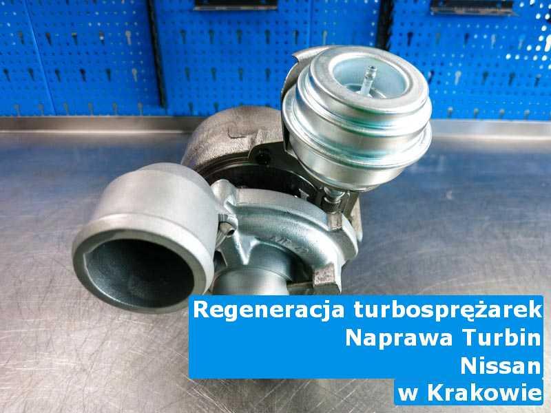 Turbiny z auta Nissan wysłane do regeneracji pod Krakowem