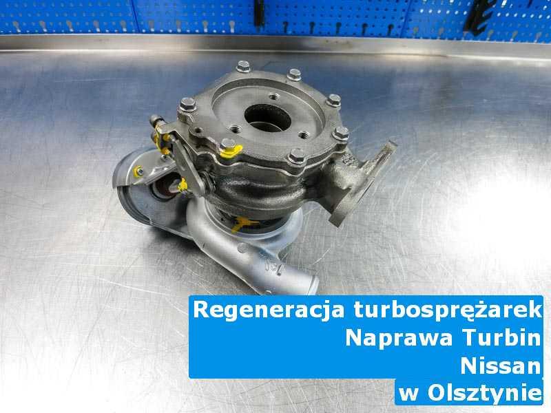 Turbo z auta Nissan zregenerowane w Olsztynie