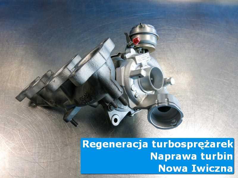 Układ turbodoładowania po wyważaniu w warsztacie z Nowej Iwicznej
