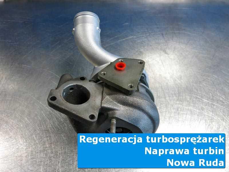 Turbosprężarka po demontażu w laboratorium z Nowej Rudy