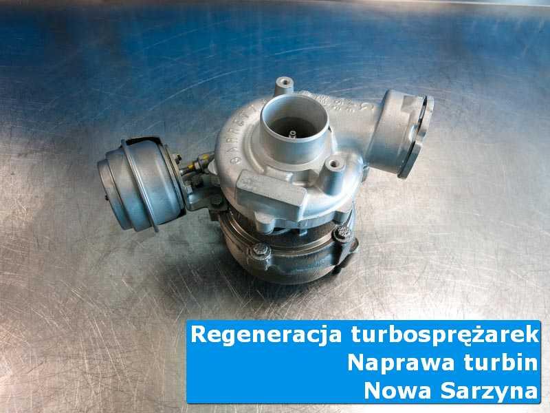 Układ turbodoładowania przed wysyłką w autoryzowanej pracowni z Nowej Sarzyny
