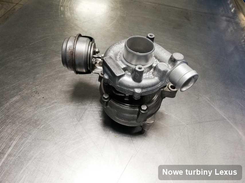 Turbosprężarka do samochodu firmy Lexus po naprawie w warsztacie gdzie przeprowadza się  serwis Nowe turbiny