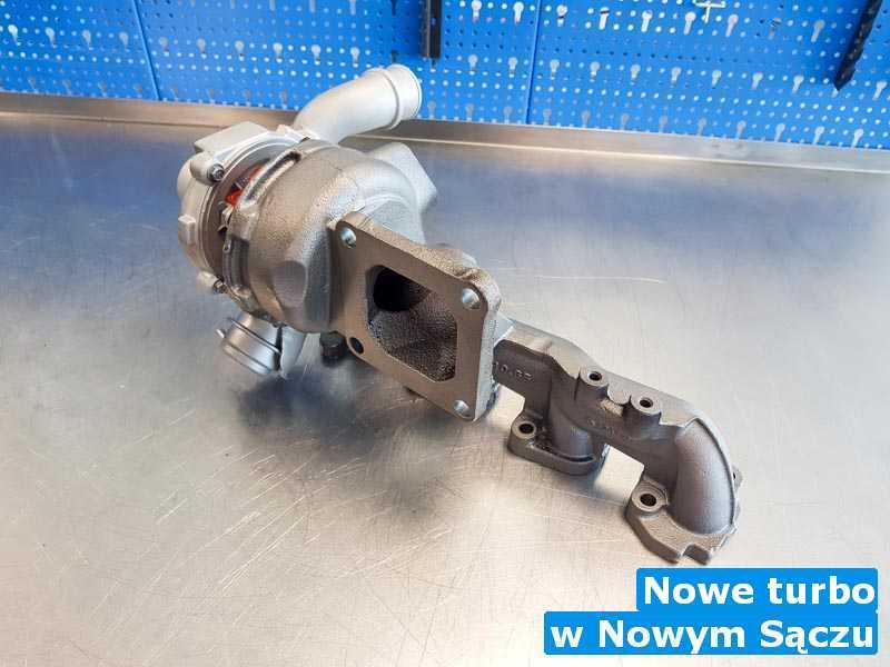 Turbosprężarka wysłana do warsztatu z Nowego Sącza - Nowe turbo, Nowym Sączu