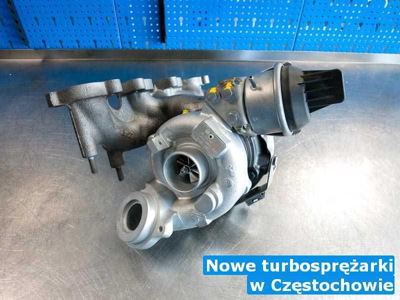 Turbiny w pracowni regeneracji pod Częstochową - Nowe turbosprężarki, Częstochowie